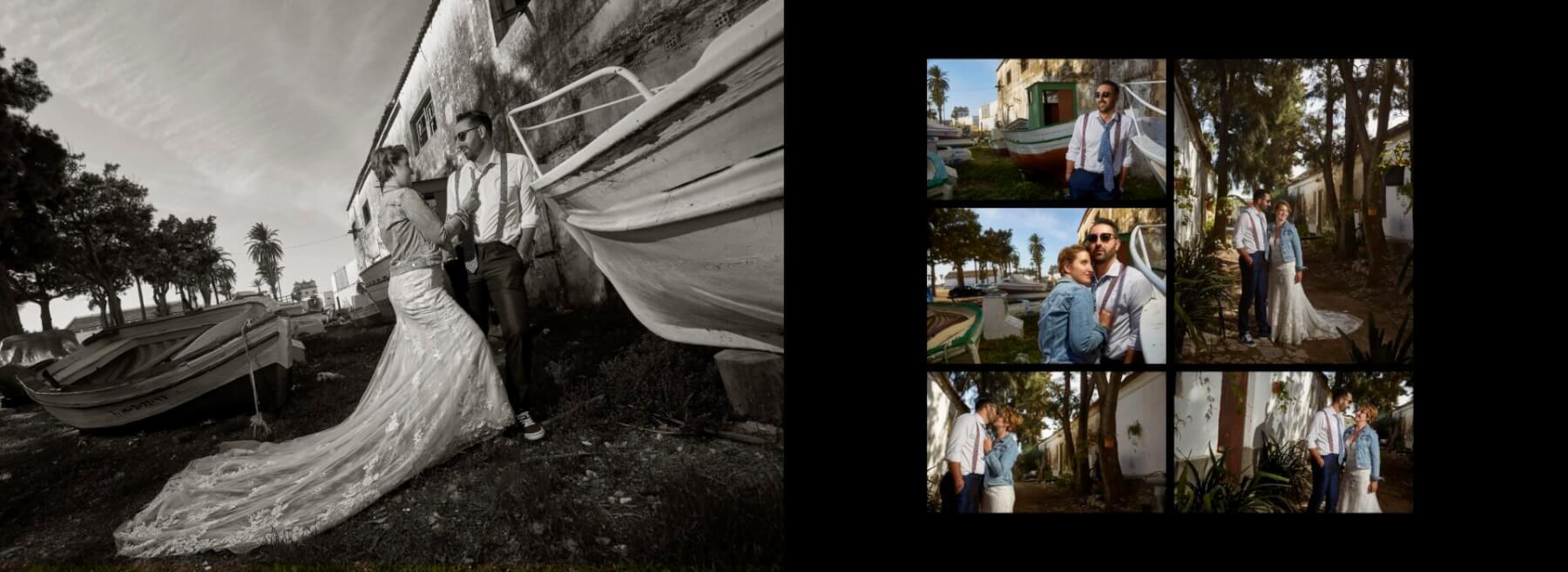 Página del libro de fotos de boda de Yolanda y Miguel. Molan Weddings Films and Photography. Wedding photographer in Málaga Córdoba Granada